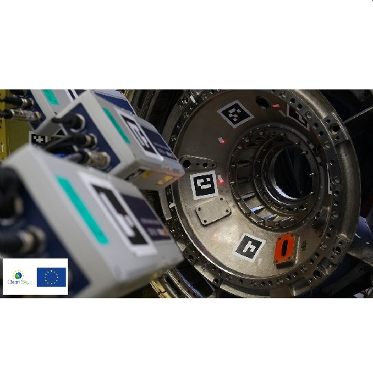 VibSea Controlling high frequency vibrations of aircraft engines